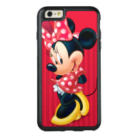 Red & White Minnie | Shy OtterBox iPhone 6/6s Plus Case