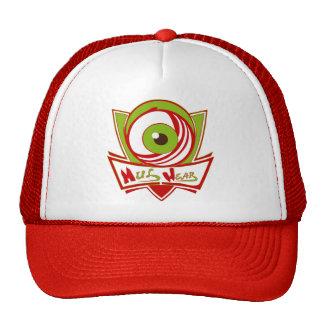 Red & White MulWear Logo Cap Trucker Hat