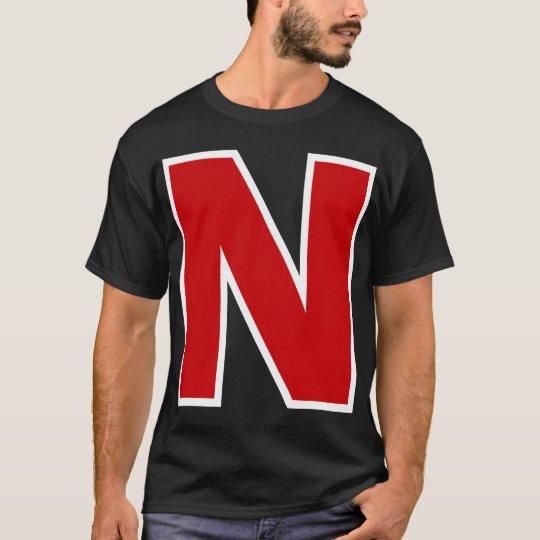 Red White N T-Shirt