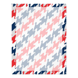 Red White Navy Blue New England Football Colors Flyer
