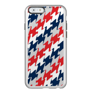 Red White Navy Blue New England Football Colors Incipio Feather Shine iPhone 6 Case