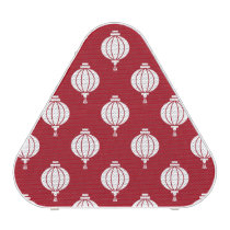 red white paper lanterns oriental pattern speaker