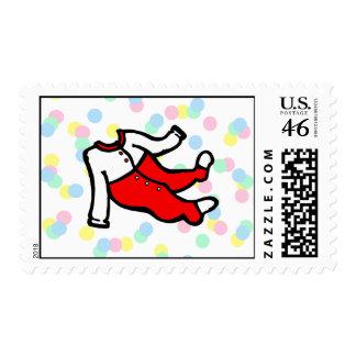 Red White PJ s Postage