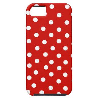 red white polkadot iPhone SE/5/5s case
