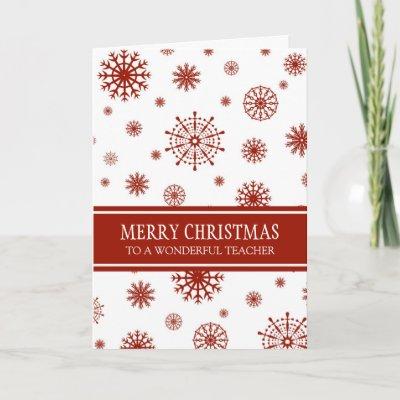 teacher christmas card zazzlecom