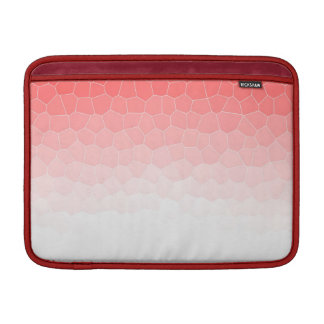 Red white stained glass MacBook air sleeve