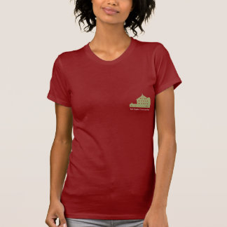 Red Wiggler Community Farm Red Women's T-Shirt