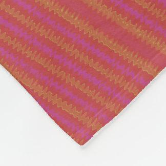 Red Wiggler Fleece Blanket