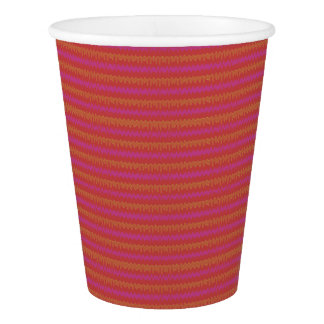 Red Wiggler Paper Cup