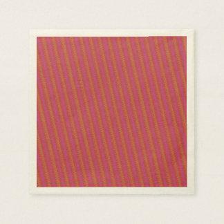 Red Wiggler Paper Napkin