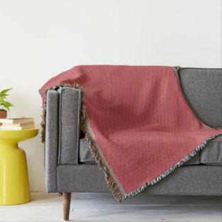 Red Wiggler Throw Blanket