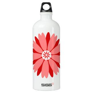 Red Wild Flower SIGG Traveler 1.0L Water Bottle