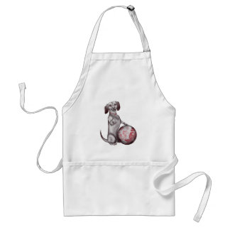 Red Willow Dachshund Adult Apron