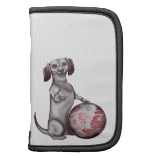 Red Willow Dachshund Folio Planners