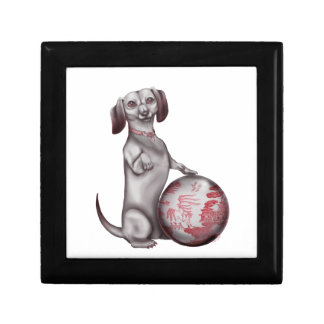 Red Willow Dachshund Gift Boxes