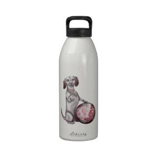 Red Willow Dachshund Water Bottles