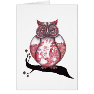 Red Willow Owl Cards