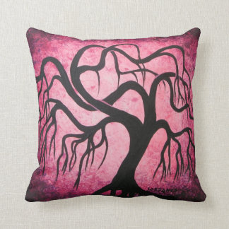 Red willow tree - pillow