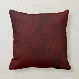Red Wine abstract pillow