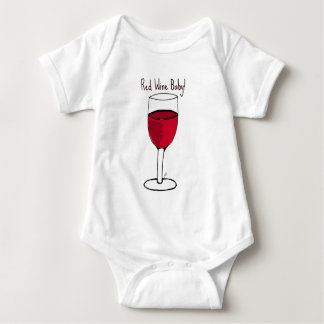 RED WINE BABY! print by jill Shirts