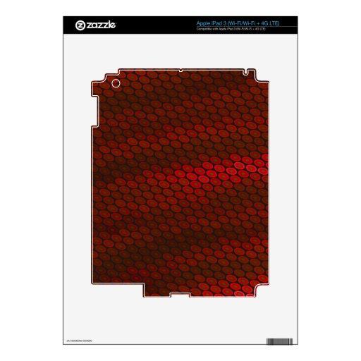 Red Wine Background iPad 3 Skin