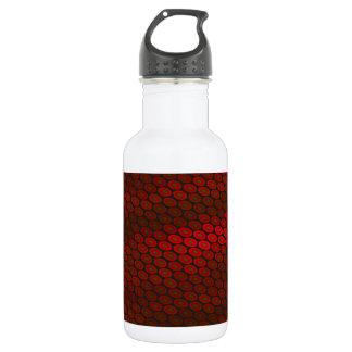 Red Wine Background 18oz Water Bottle