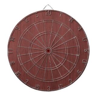 Red Wine Bamboo Look Wood Grain Dart Boards