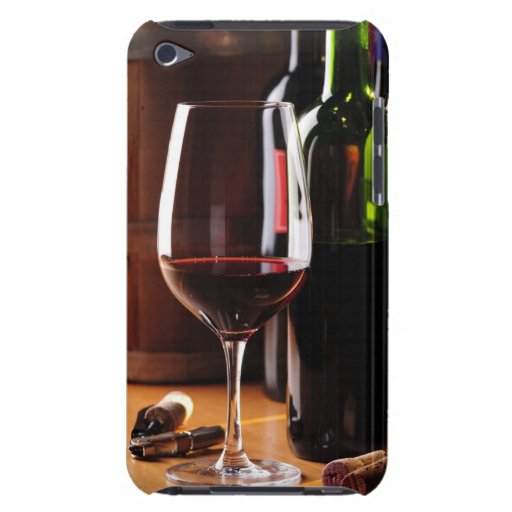 Red Wine Barely There iPod Cases