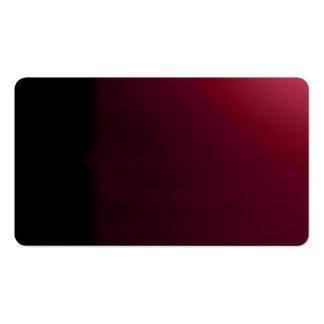 Red Wine Black Unusual Visual Identifiers Biz Card