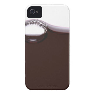Red Wine Bubbles iPhone 4 Case