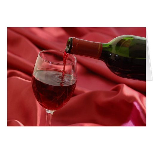 Red Wine Cards