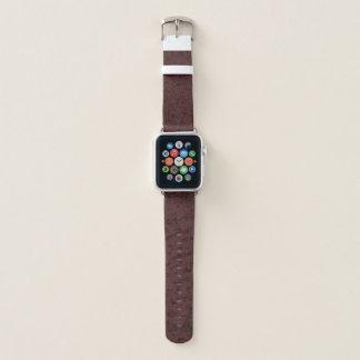 Red Wine Cork Look Wood Grain Apple Watch Band