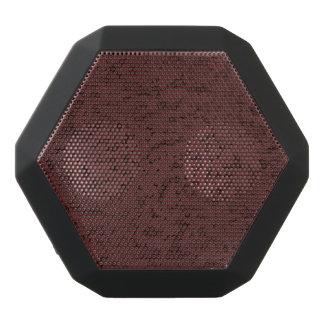 Red Wine Cork Look Wood Grain Black Bluetooth Speaker