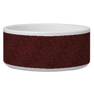 Red Wine Cork Look Wood Grain Bowl