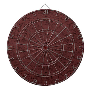 Red Wine Cork Look Wood Grain Dart Boards