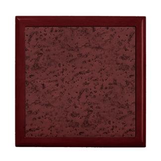 Red Wine Cork Look Wood Grain Gift Box