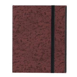 Red Wine Cork Look Wood Grain iPad Covers