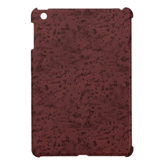Red Wine Cork Look Wood Grain iPad Mini Case