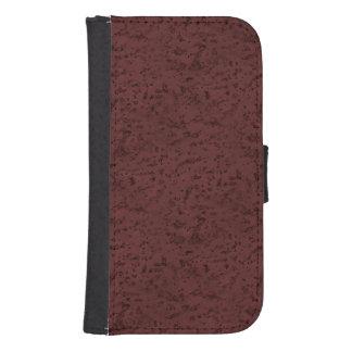 Red Wine Cork Look Wood Grain Wallet Phone Case For Samsung Galaxy S4