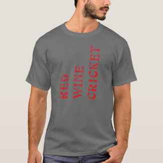 red wine cricket T-Shirt