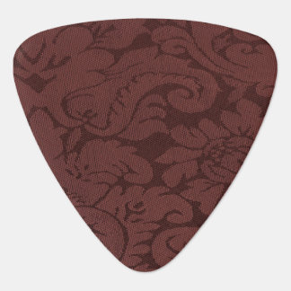 Red Wine Damask Weave Look Pick