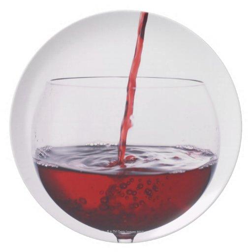 Red Wine Dinner Plates