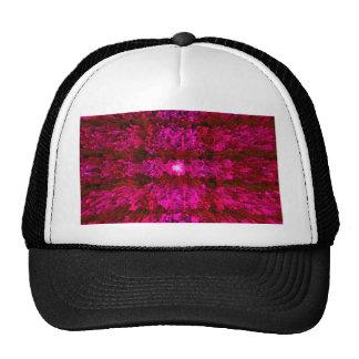 Red Wine Futurism Modern Textured Pattern Design Trucker Hat