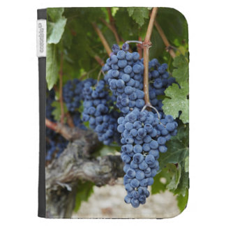 Red wine grapes on the vine kindle keyboard covers