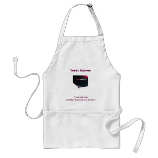 """red wine, """"I cook with wine, sometimes I even a... Adult Apron"""
