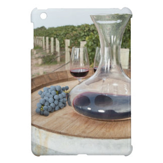 Red Wine In Vineyard iPad Mini Cover