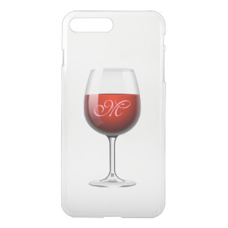 Red Wine iPhone X/8/7 Plus Clear Case