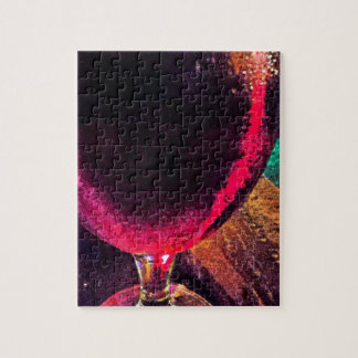 red wine jigsaw puzzle