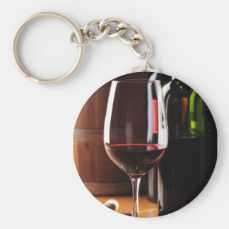 Red Wine Keychain