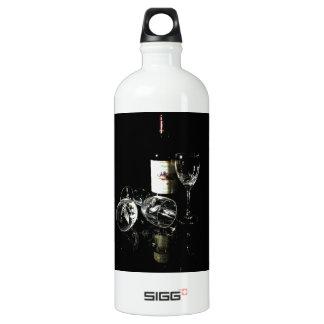 Red Wine Lover Bottle and Glasses SIGG Traveler 1.0L Water Bottle